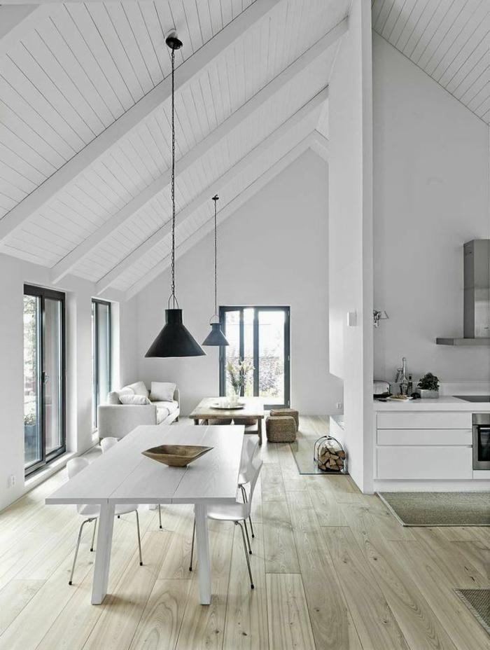 comment-bien-decorer-le-salon-sol-en-planchers-en-bois-pour-la-salle-de-séjour-sous-pente