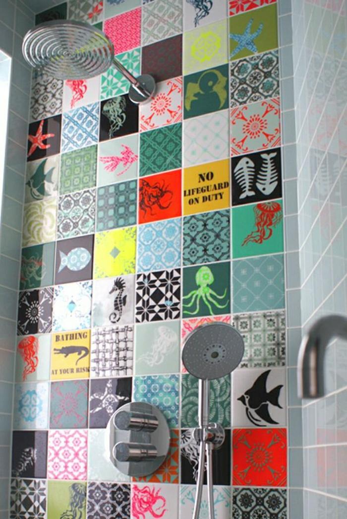 Interesting finest robinet mural salle de bain castorama for Carrelage mural pas cher