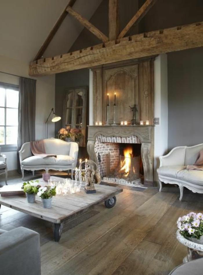 La poutre en bois dans 50 photos magnifiques for Decorer le salon