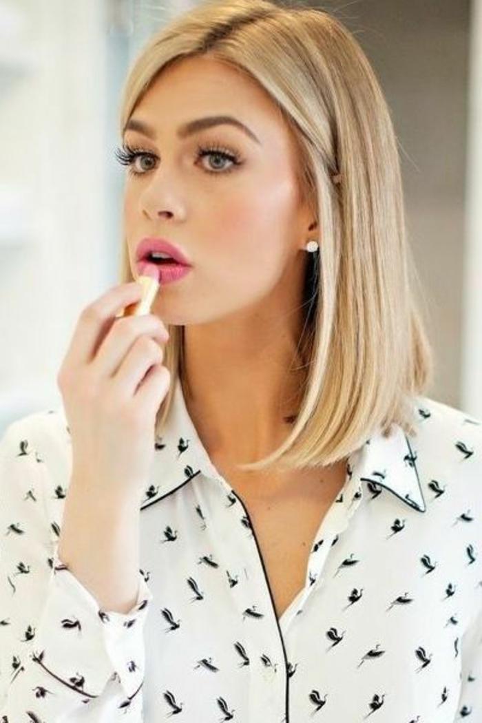 coupe-de-cheveux-femme-avec-cheveux-blonds-et-levres-roses-beaux-yeux