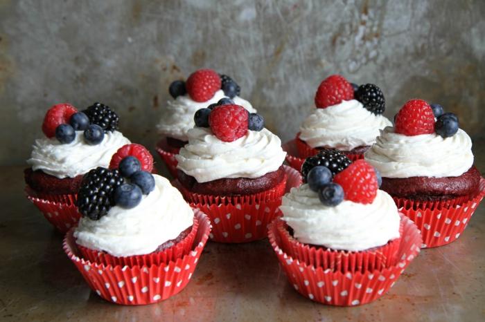 cupcake-glacage-cupcake-faire-à-vous-memes-fruits-de-forter-glaçage-cupcake