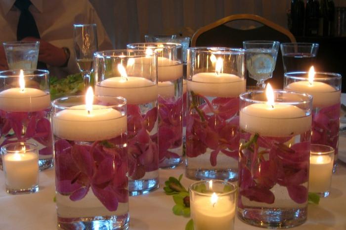 déco-mariage-originale-photophore-idées-eau-orchidées