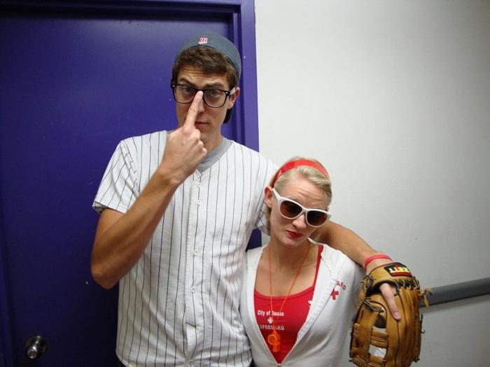 déguisement-femme-halloween-idées-déguisement-halloween-baseball