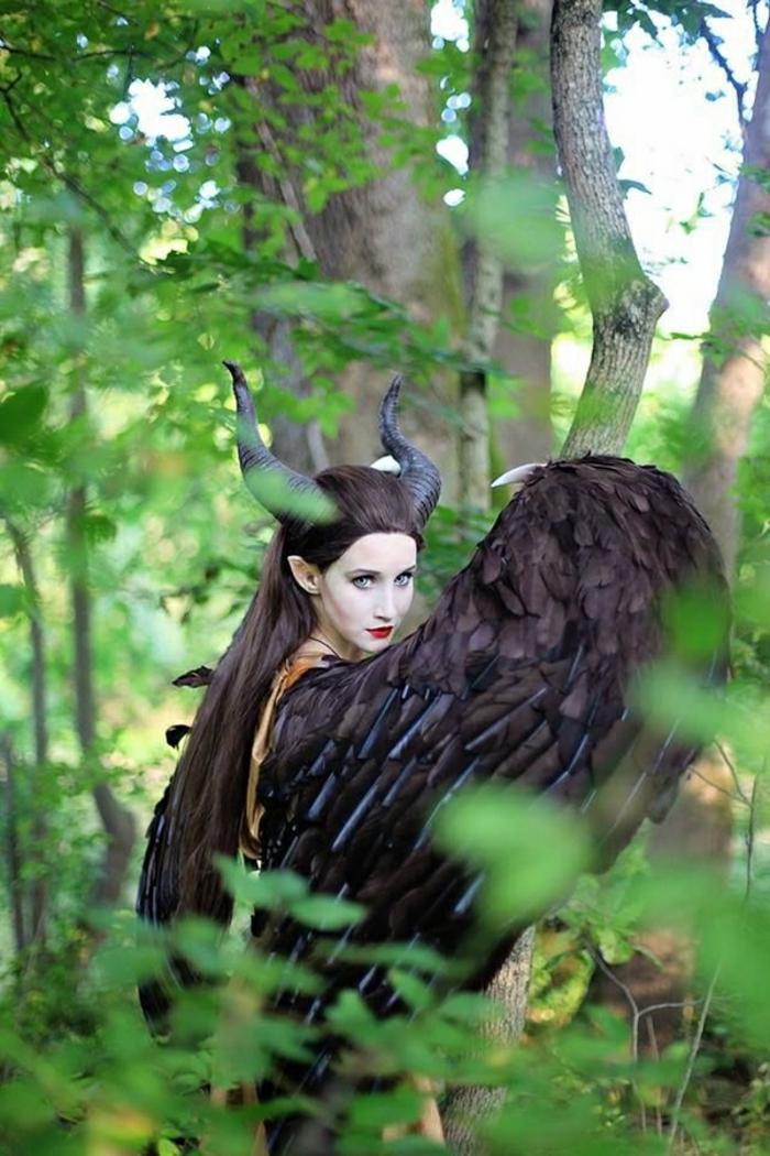 déguisement-femme-halloween-idées-déguisement-halloween-maleficent