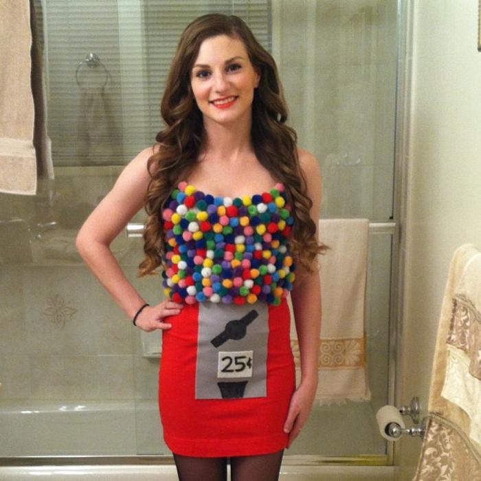 déguisement-halloween-femme-idées-originaux-à-réaliser-boules-gommes