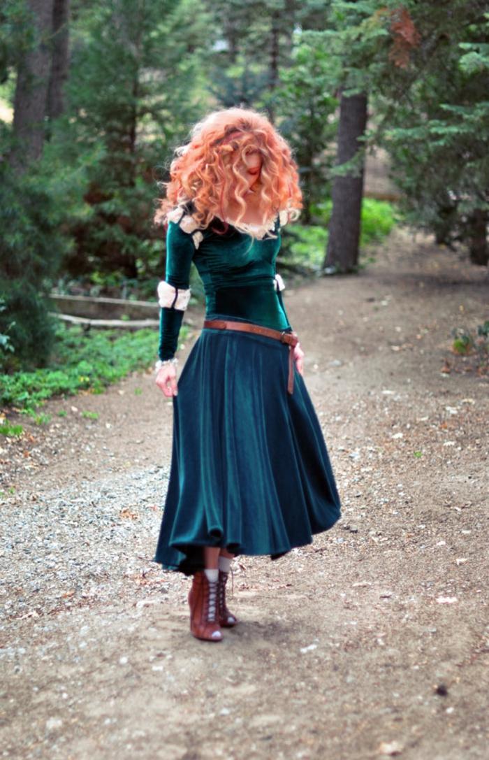 déguisement-halloween-femme-idées-originaux-à-réaliser-brave-heart