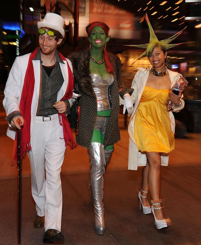 déguisement-halloween-femme-idées-originaux-à-réaliser-cool-triple