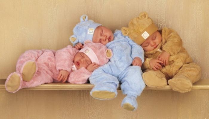 deco-chambre-bebe-fille-belle-en-couleur-idées-originalies-bébés