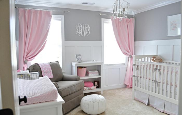 deco-chambre-bebe-fille-belle-en-couleur-idées-originalies-blanc-et-rose-lux