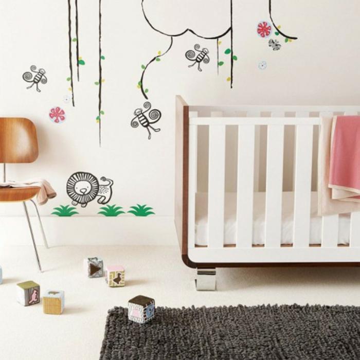 deco-chambre-bebe-fille-belle-en-couleur-idées-originalies-tumblr