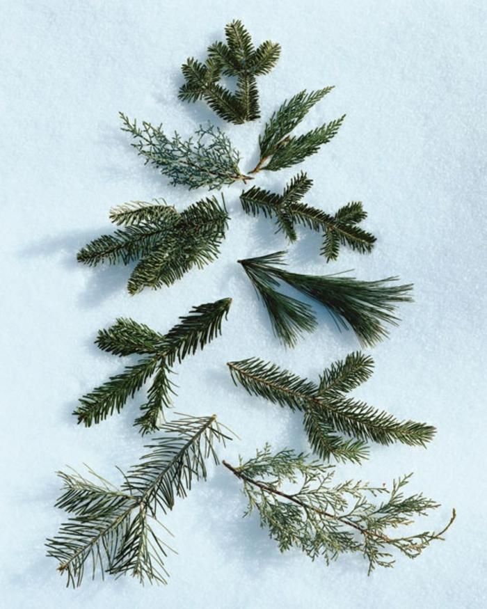 decoration-de-noel-branche-de-sapin-vert-comment-decorer-pour-noel