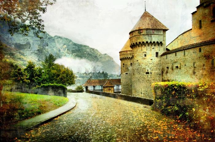 en-automne-photo-image-paysage-d-automne-belle-nature-un-castle-et-montagne