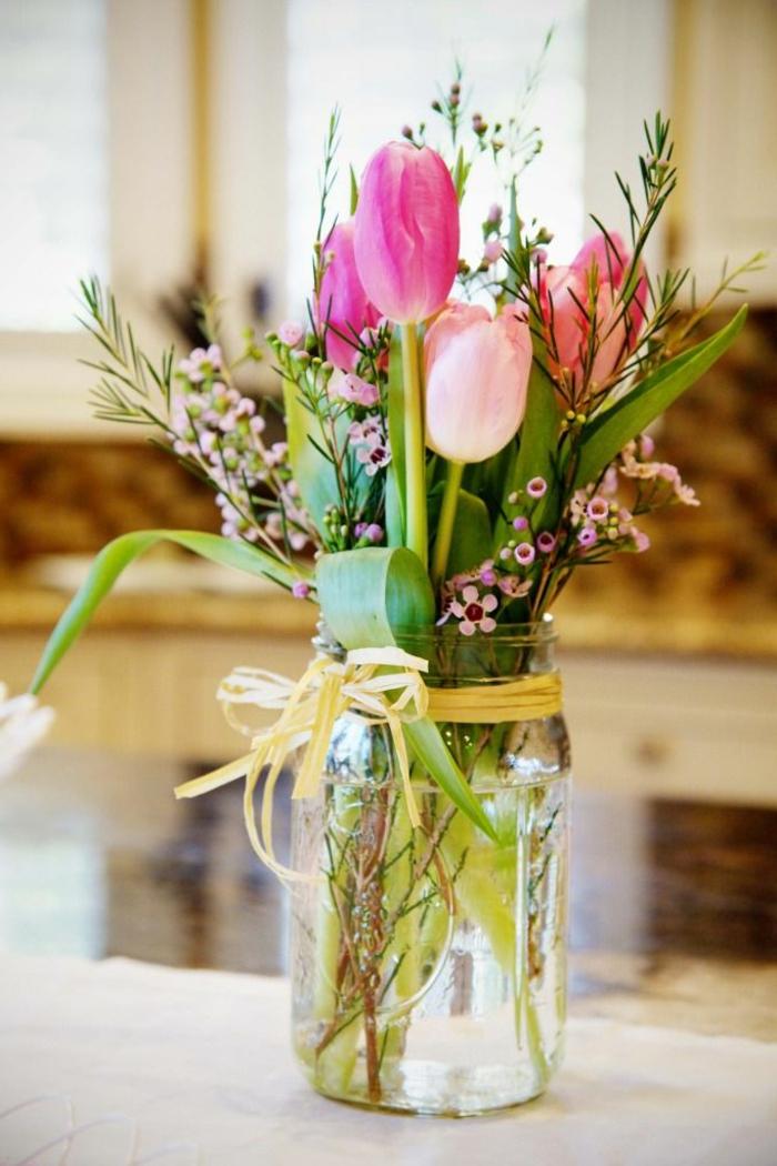 Simple Flower Vase Arrangements