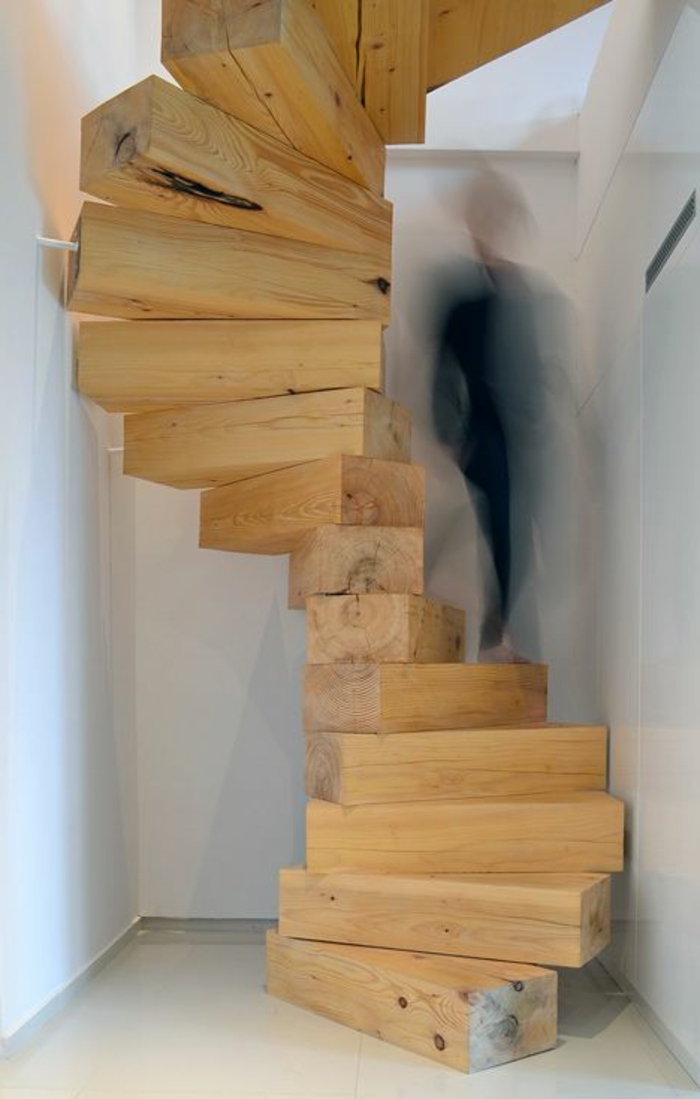 Construire Un Escalier De Jardin En Bois. Excellent Escalier Bois ...