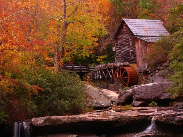 Une Villa Dessin : Le plus beau paysage d automne voyez nos propositions