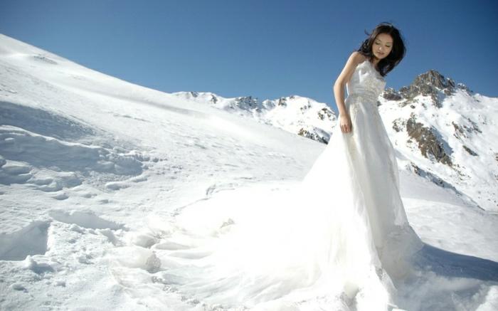 hauteur-de-neige-enneigement-alpes-photographie-robe-blanche