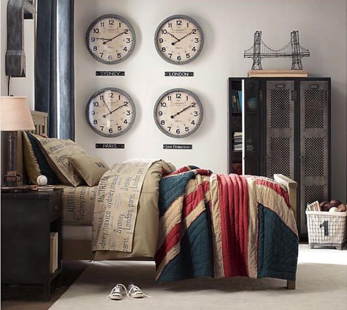 horloges-murales-déco-fantastique-avec-horloges-murales