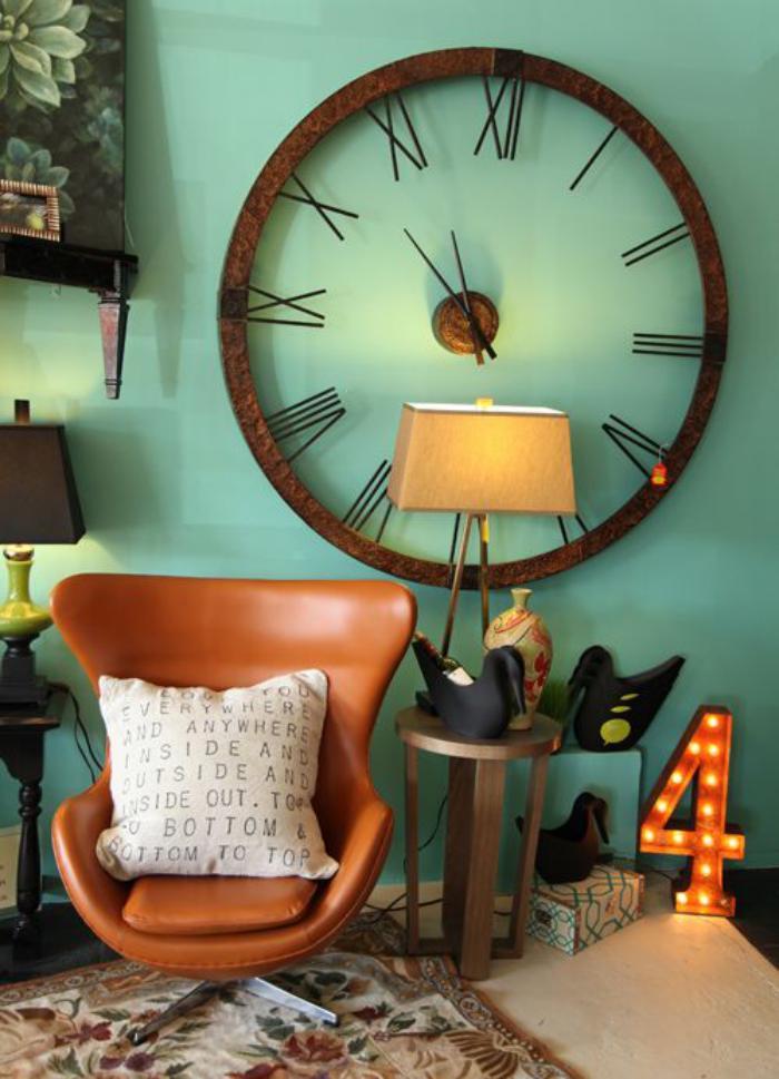 horloges-murales-grande-horloge-murale-décoration-industrielle