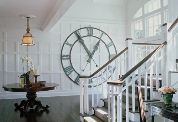 La tendance horloges murales d corez avec du style - Tres grande horloge murale ...