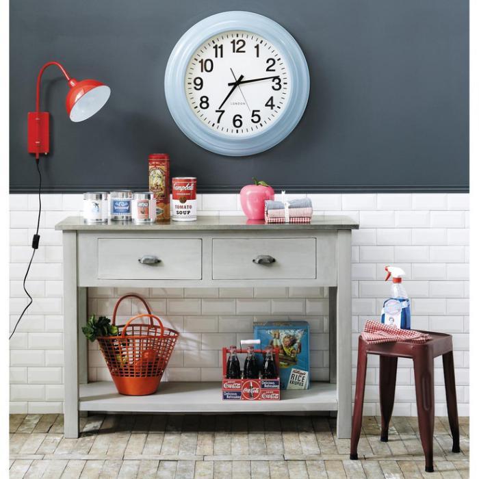 La tendance horloges murales d corez avec du style - Deco murale contemporaine ...