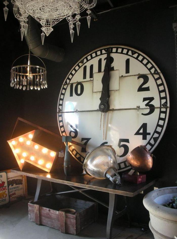 horloges-murales-horloge-chiffres-arabes-déco-brocante-d'intérieur