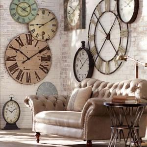 La tendance horloges murales - décorez avec du style!