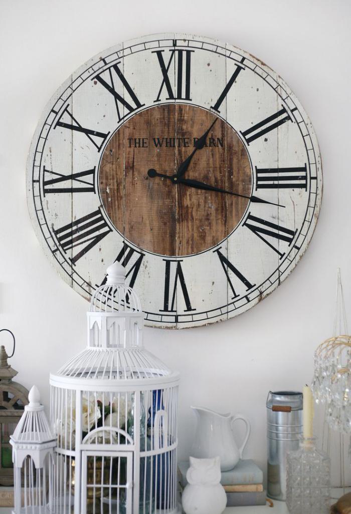 horloges-murales-objets-décoratifs-shabby-chic