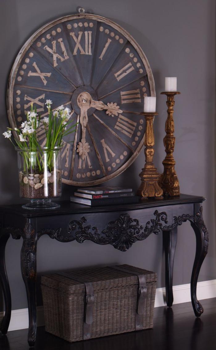 horloges-murales-tendance-moderne-déco-avec-horloges-anciennes