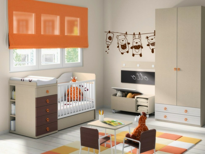 Chambre Bb Orange. Amazing Vert Chambre Bebe Dcoration Chambre Bb ...