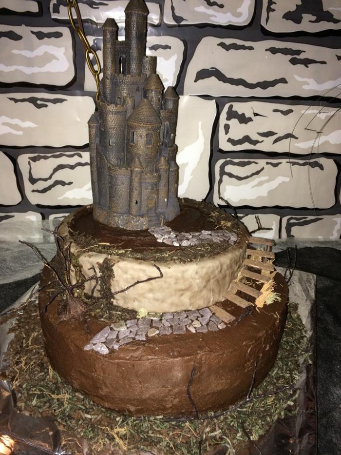 idée-cool-chateau-gateau-anniversaire-château-gâteau-pour-votre-garçon