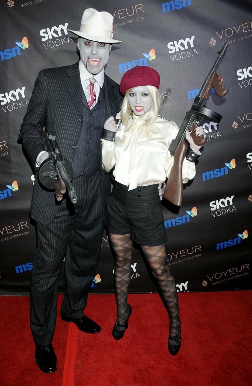 idée-déguisement-halloween-pas-cher-coutume-porter-couple-celebre