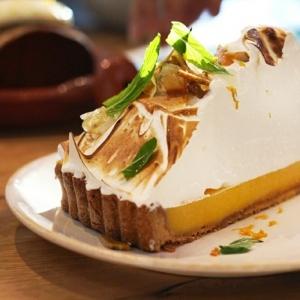 La tarte au citron meringuée - une belle idée