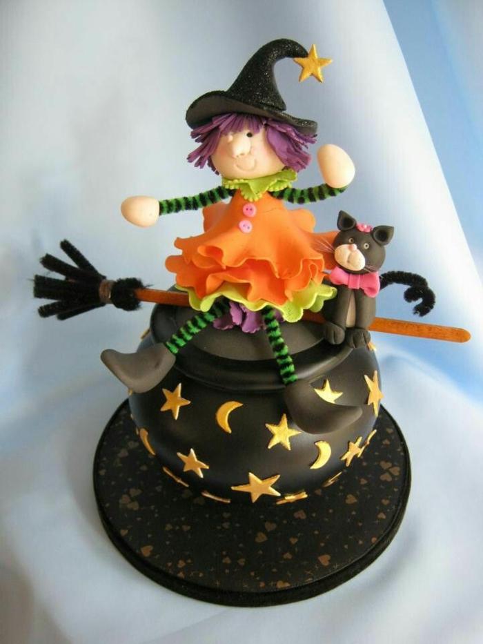 idée-gâteau-d-halloween-préparer-un-gâteau-festive-la-magicienne