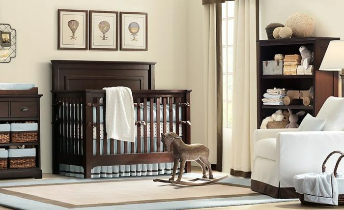 idee-deco-chambre-bebe-fille-accessoiriser-la-chambre-brun-bois