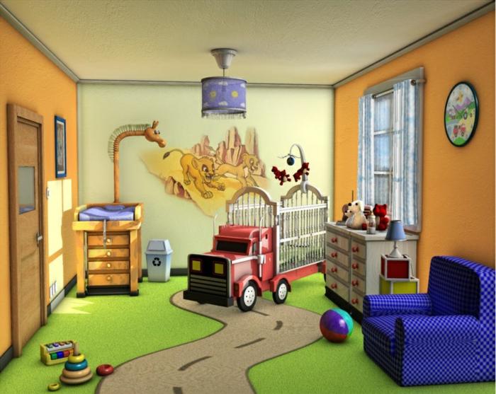 Quelle est la meilleur id e d co chambre b b - Idee decoration chambre bebe ...