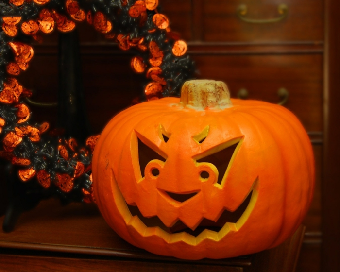 Halloween jack,o,lantern