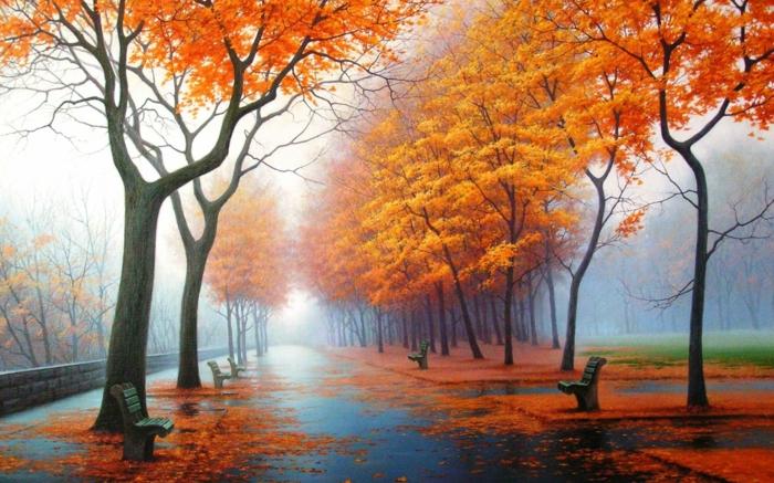 image-d-automne-paysage-landscape-tableau-peinture-dans-le-parc