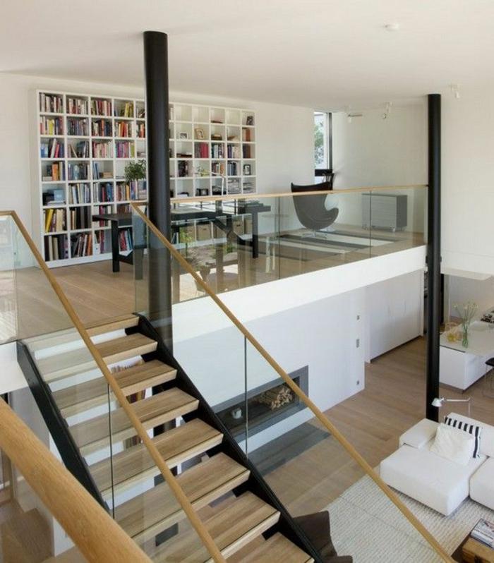 joli-appartement-d-esprit-loft-avec-un-escalir-en-bois-clair-calcul-escalier-droit