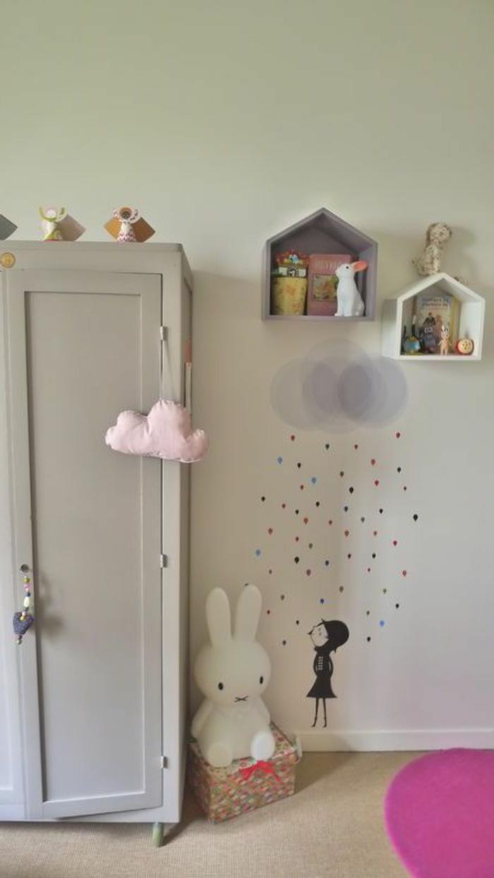 joli-armoir-enfant-gris-pour-la-chambre-d-enfant-fille-decoration-chambre-d-enfant-pas-cher