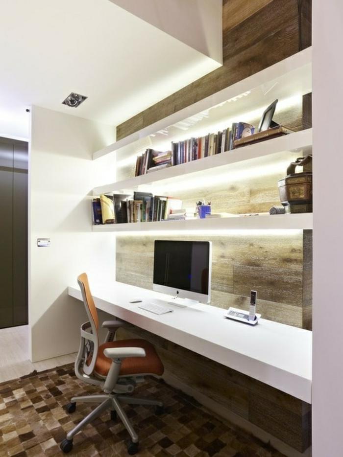 joli-coin-de-travail-de-style-feng-shui-et-tapis-beige-chaise-de-bureau-beige-et-murs-blancs