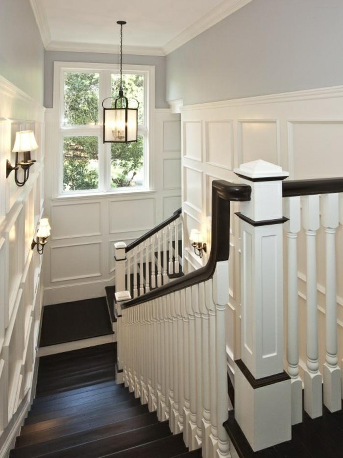 joli-escalier-tournant-en-bois-pour-creer-le-meilleur-couloir-chez-vous-escalier-en-bois-foncé