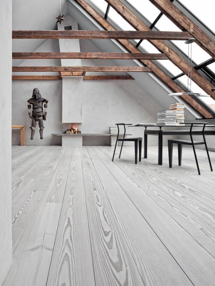 joli-salon-d-esprit-loft-avec-poutre-decorative-poutre-chene-pour-le-plafond-sous-pente