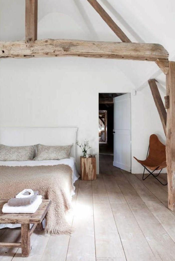 jolie-chambre-à-coucher-poutre-en-bois-poutre-chene-dans-la-chambre-à-coucher-moderne