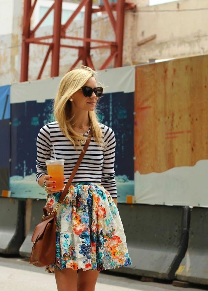 jupe sequin color pour les filles modernes tendances - Jupe Colore