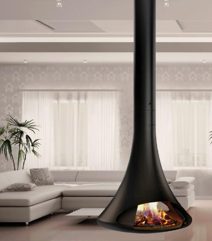 la-cheminée-centrale-foyer-fermé-intérieur-moderne-cheminée-contemporaine