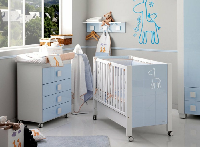 la-deco-chambre-bebe-garcon-chambre-thématique-bleu