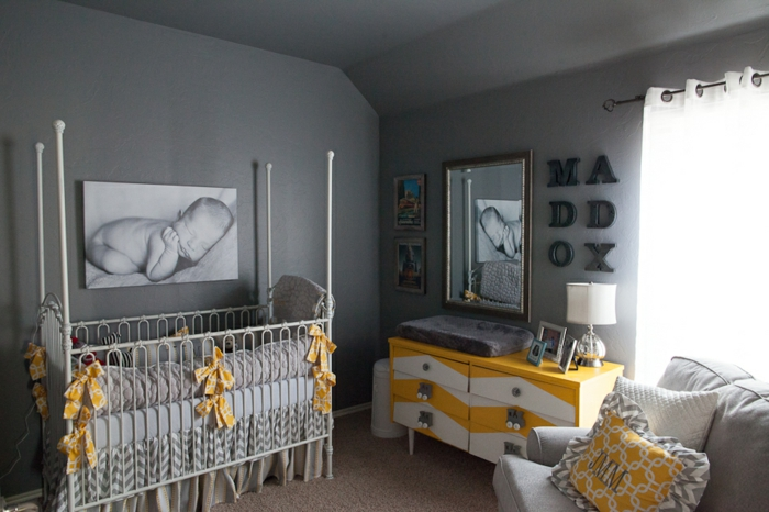 Quelle est la meilleur id e d co chambre b b - Chambre de bebe garcon deco ...