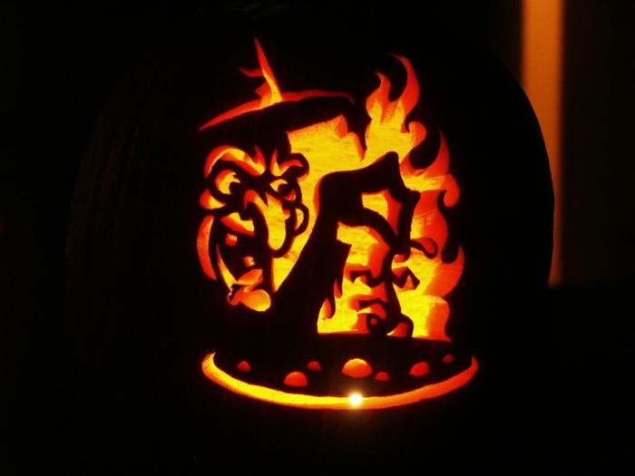 la-decoration-dessin-citrouille-halloween-citrouille-cool-idée-magicien