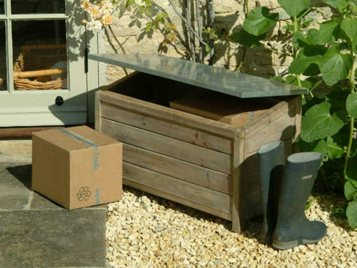 Le banc coffre de jardin belles id es pour votre jardin - Construire un coffre de jardin ...