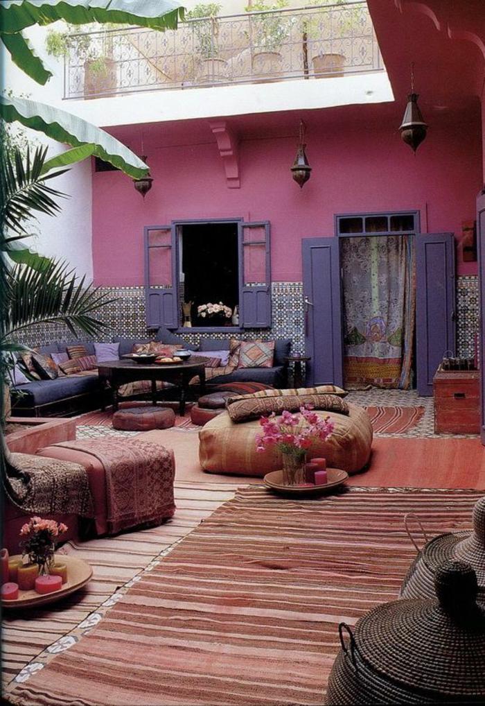 Le salon marocain de mille et une nuits en 50 photos for Decoration jardin le bon coin vendee